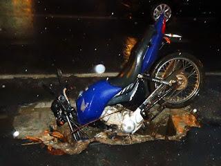 Número de mortes em acidente com moto sobe 263% em 10 anos
