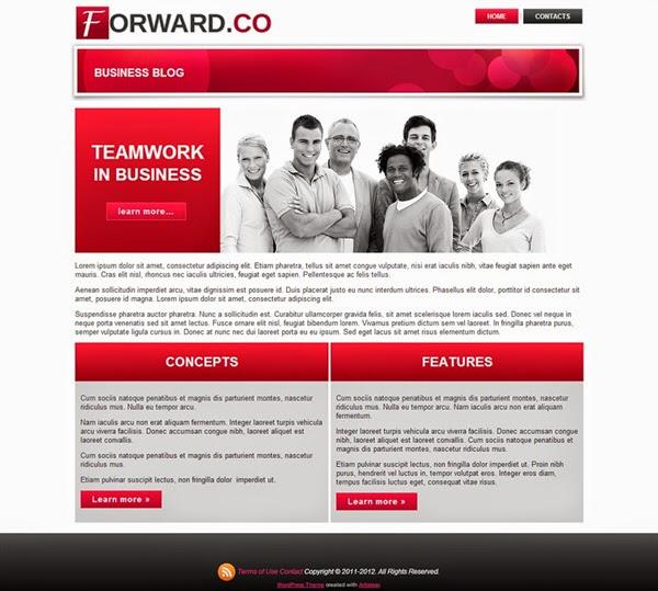 Forward - Free Wordpress Theme