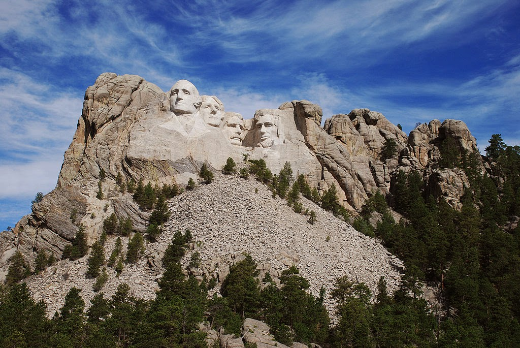 http://en.wikipedia.org/wiki/Mount_Rushmore#mediaviewer/File:Mt._Rushmore_Early_Morning.jpg