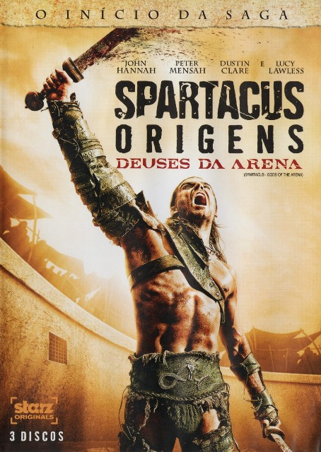 Spartacus Origens Deuses da Arena Dublado Rmvb + Avi Dual Áudio DVDRip