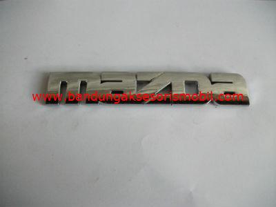 Emblem Tulisan Mazda