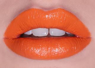Tangerine Lipstick!