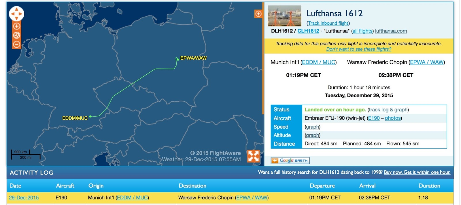 munich to warsaw flight was diverted delayed and canceled but they finally made it