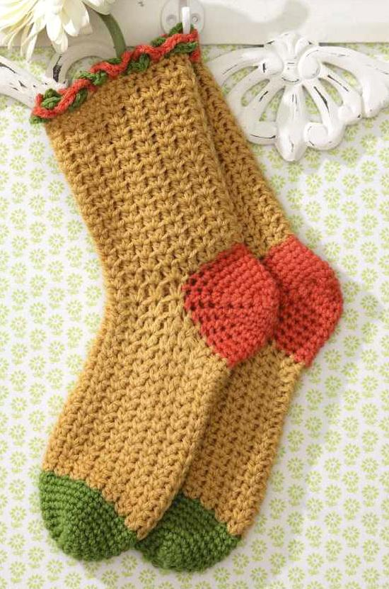 Crochet Socks : Warm Socks - Crochet Socks For Both Women And Men