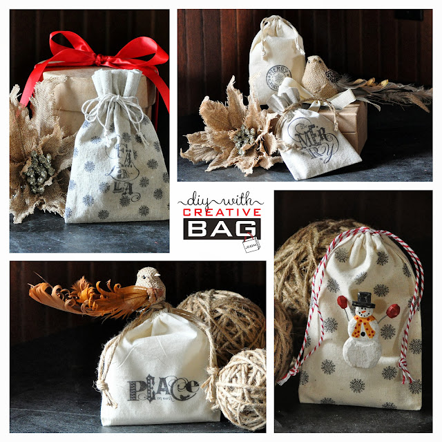Creative Bag diy ideas using our fabric bags