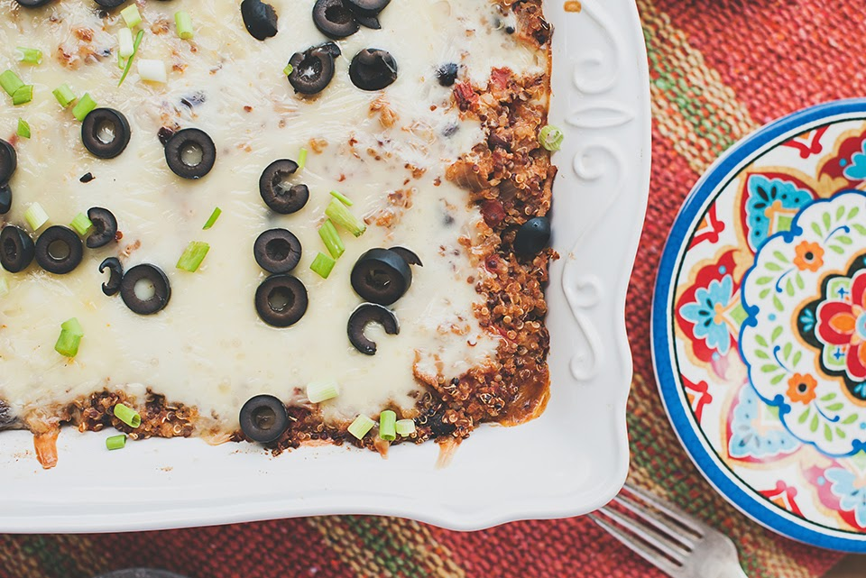 http://loriesmississippikitchen.com/2014/09/turkey-taco-quinoa-bake.html