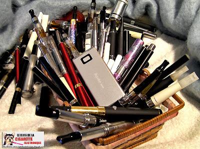 Ma petite collection de cigarette électronique
