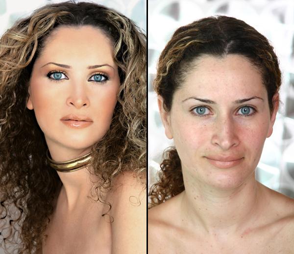 Женщина в 45 лет без макияжа