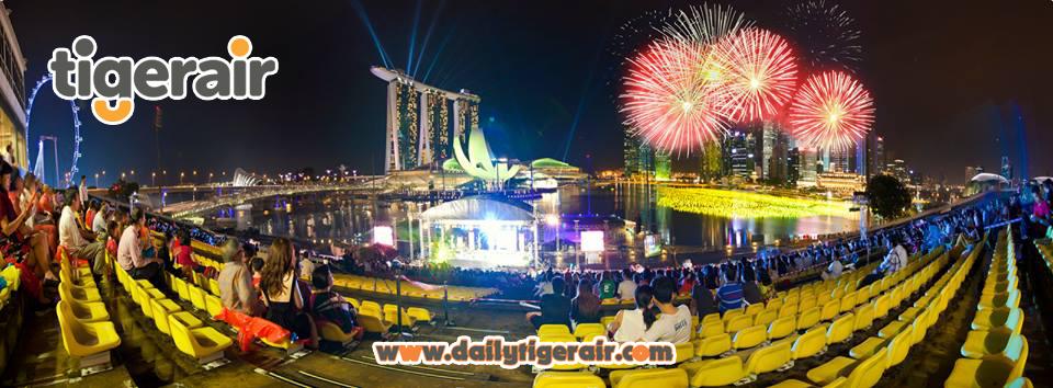 Ve may bay di Singapore thang 1 Tigerair