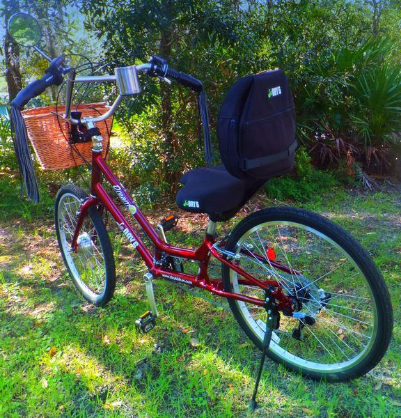 Day 6 Dream 24 bicycle, semi recumbant bicycle