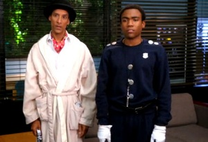 Troy and Abed play Inspector Spacetime, Community, Dan Harmon