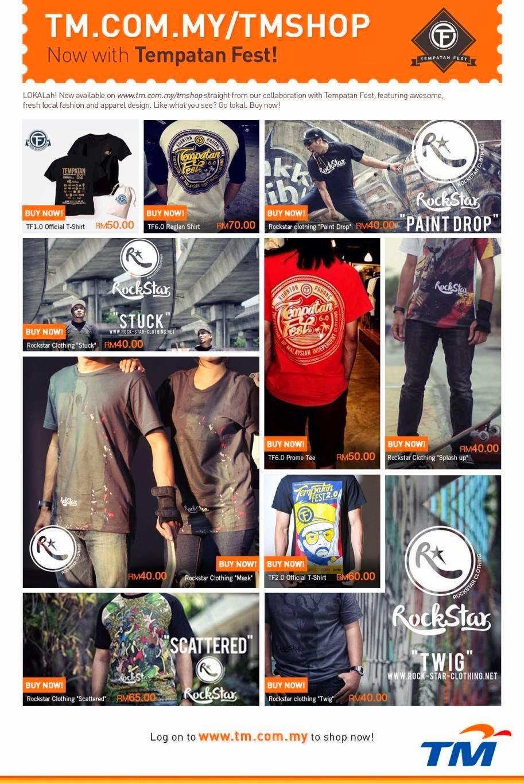 Shop at TMShop with Tempatan Fest