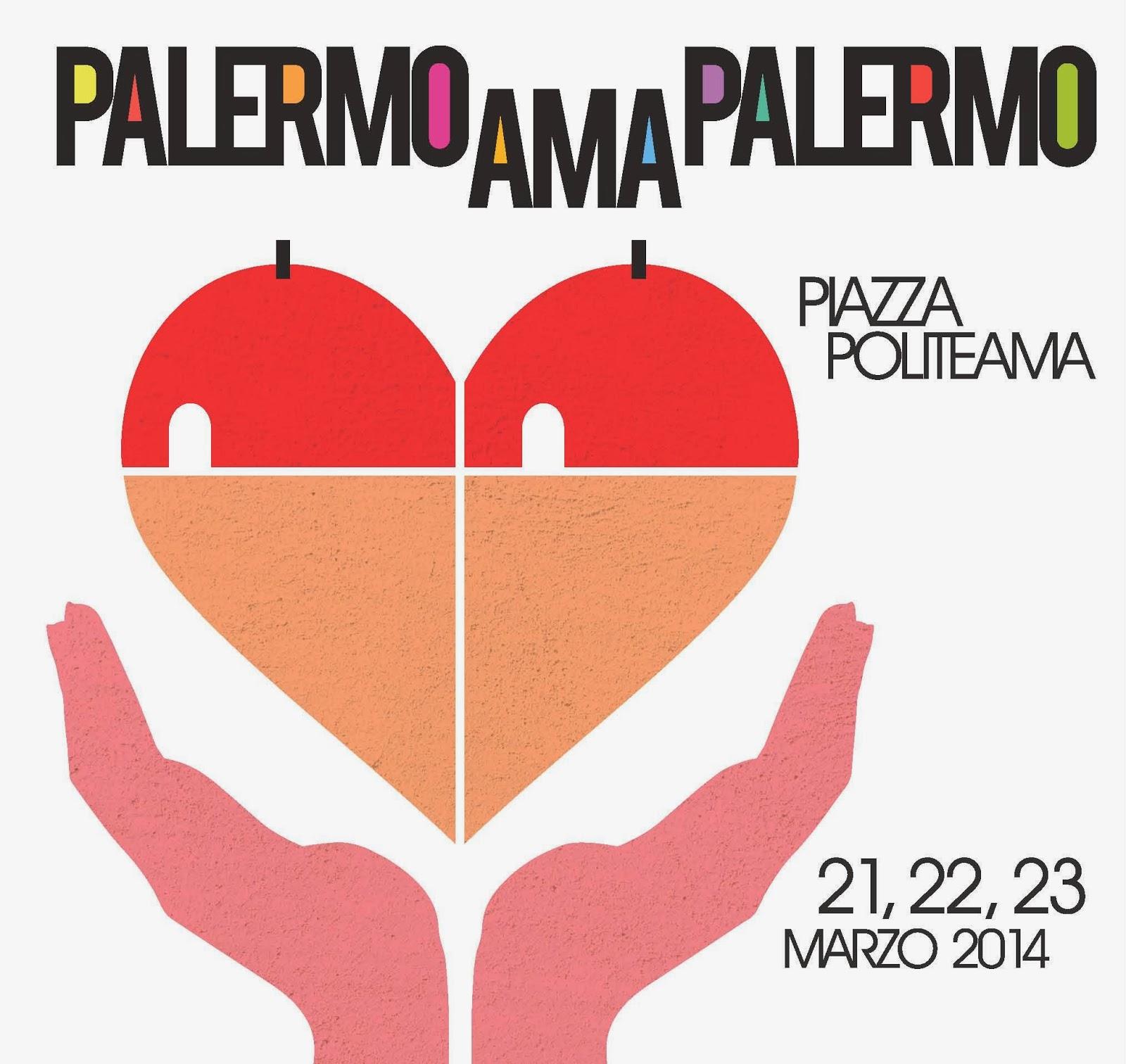 Logo manifestazione Palermo ama Palermo