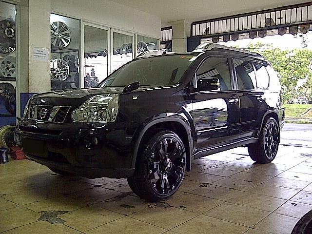 Modifikasi Velg Mobil Nissan X-Trail