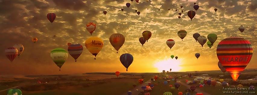 gambar kronologi facebook keren balon udara