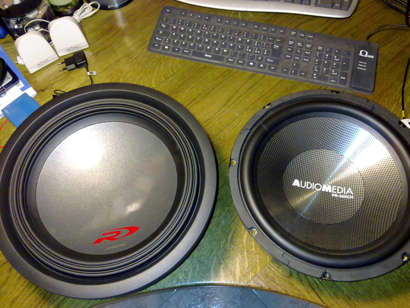 Ketto90 hi fi car costruzione di un box per il subwoofer - Casse audio per casa ...