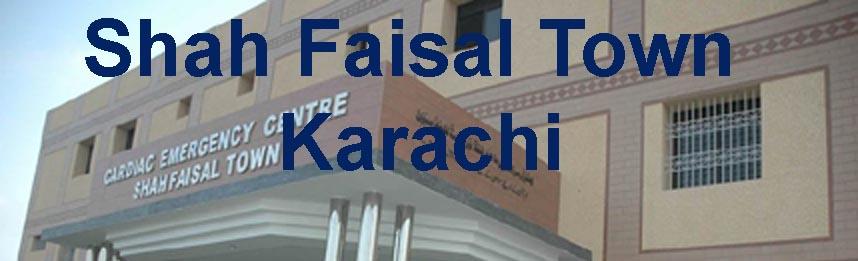 Shah Faisal Town, Karachi