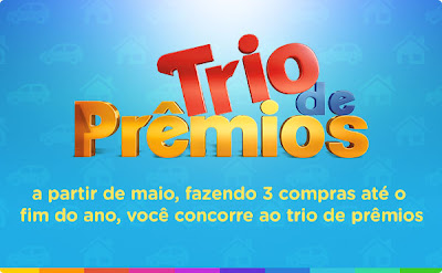 Participar promoção Trio de Prêmios 2013