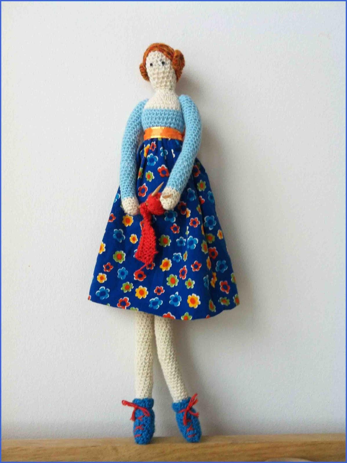Mijn eigen plekkie: Crochet Tilda creations from all over ...