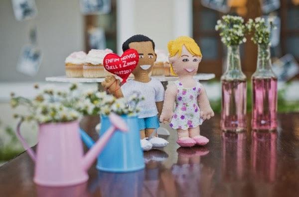 decoracao de boteco para noivado:Noivado Rosa & Azul ~ Senhora Inspiração! Blog