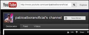 Canal Youtube Pablo Alborán Oficial