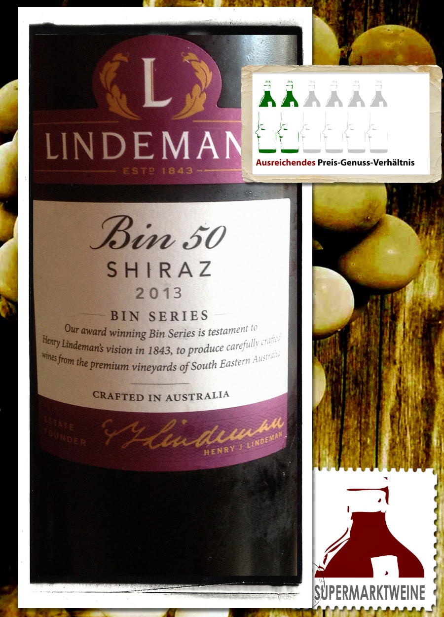 Lindeman's Bin 50 Shiraz 2013 | Test und Bewertung