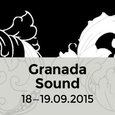 Granada Sound 2015 FESTIVAL