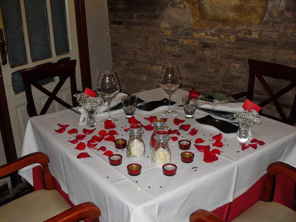 Imagenes para decorar camas y mesas romanticas en san - Ideas romanticas en casa ...