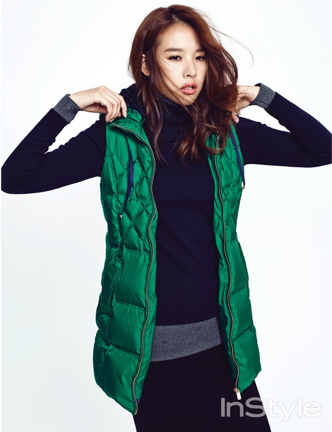Jo Yoon Hee - InStyle Magazine November Issue 2014