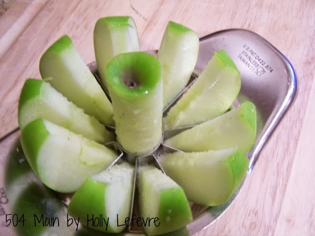 Quick Apple Crisp in a Mug by 504 Main