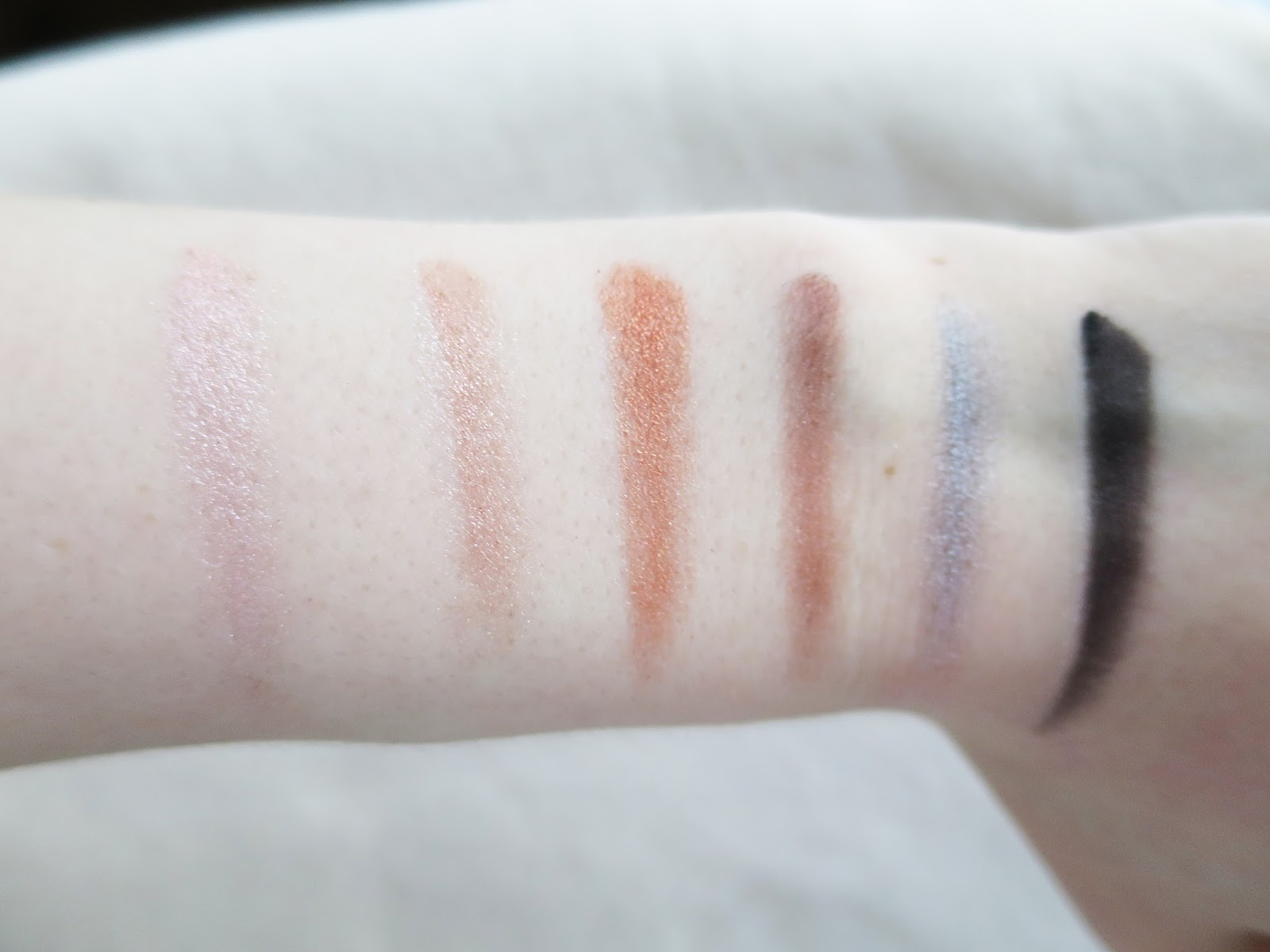 MAKEUP REVOLUTION: SWATCHES / REVIEW | Little Miss Fii