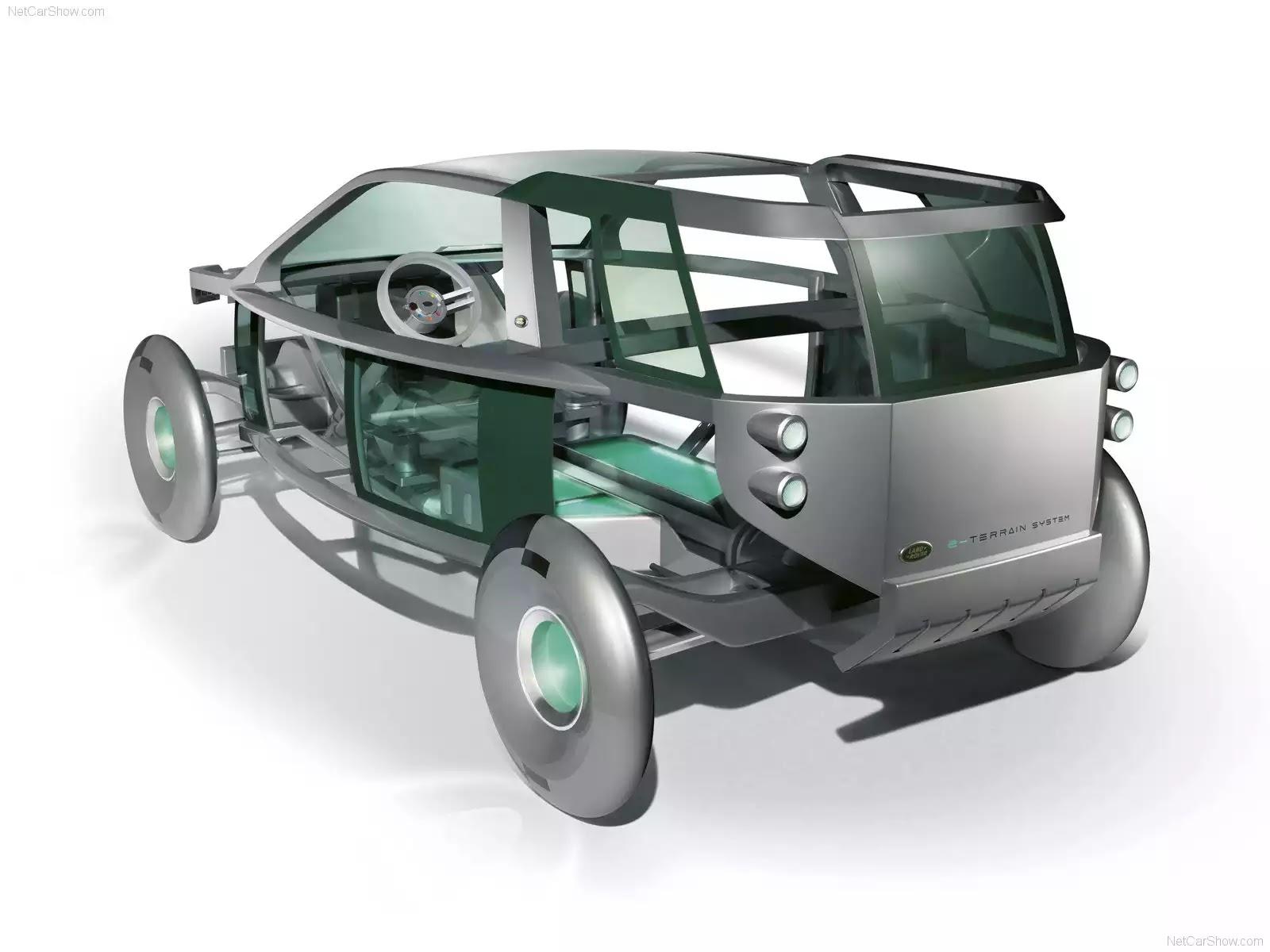 Hình ảnh xe ô tô Land Rover Land e Concept 2006 & nội ngoại thất