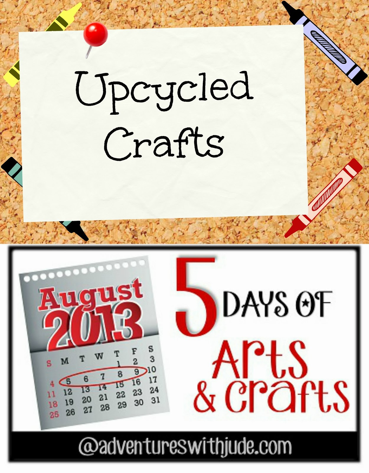 Adventures with Jude: Upcycled Crafts