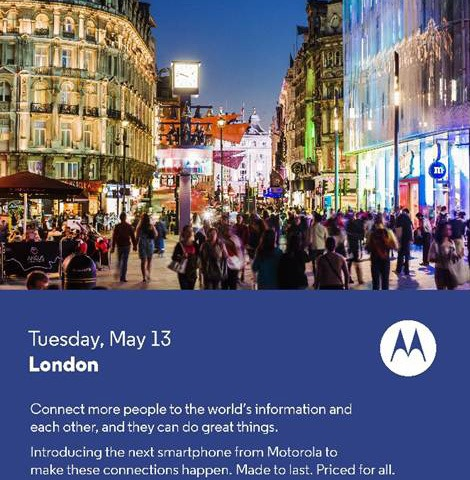 Motorola press invite
