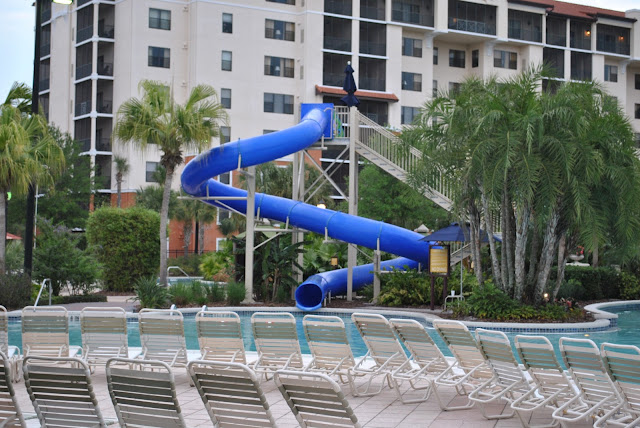 orange lake resort water slide