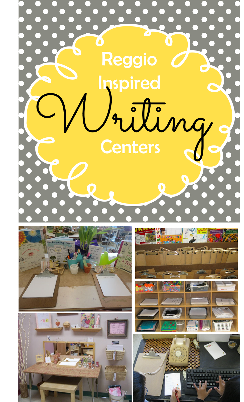 Classroom Writing Ideas ~ Preschool ponderings reggio inspired writing centers
