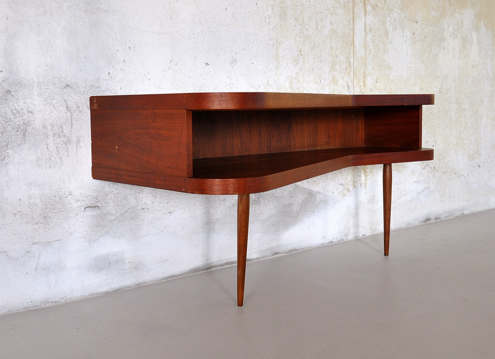 1950s. Wall Mount / Hanging Console Table
