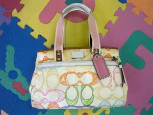 Coach Hamptons Scribble Tote Diaper Bag(SOLD)