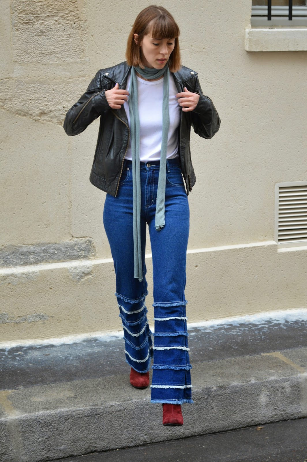How to style denim flares