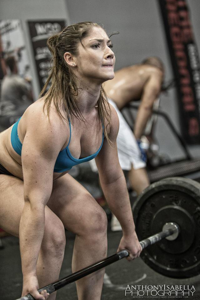 Sexy weightlifter