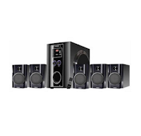 Buy Envent DeeJay Rock+  (75W RMS) TrueWood Home Audio Speaker (5.1 Channel) at Rs. 2449 after cashback : BuyToEarn