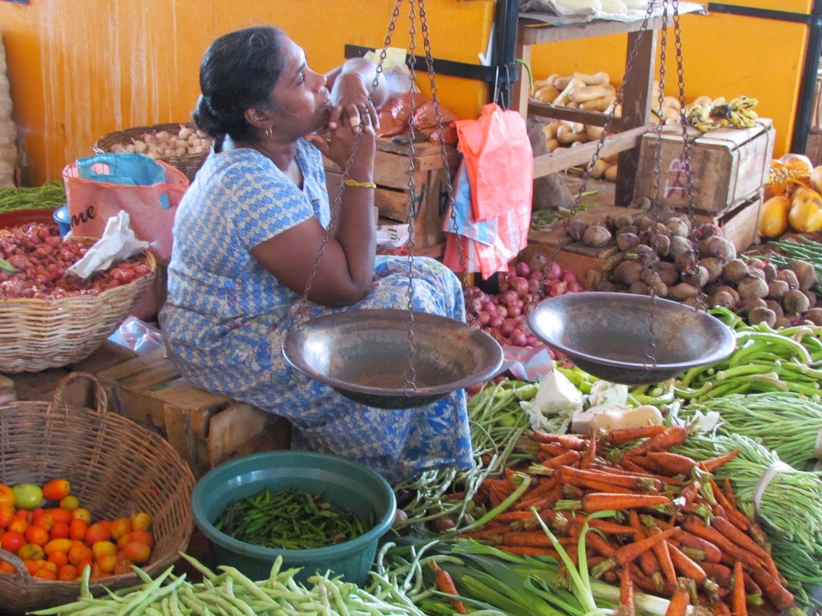 the market - sri lanka