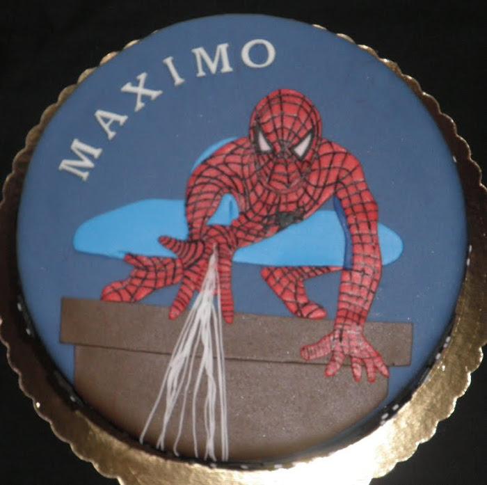 Tarta Spider Man