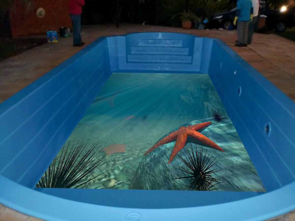 Envelopatudo envelopamento de fundo e borda de piscina for Piscina 3d