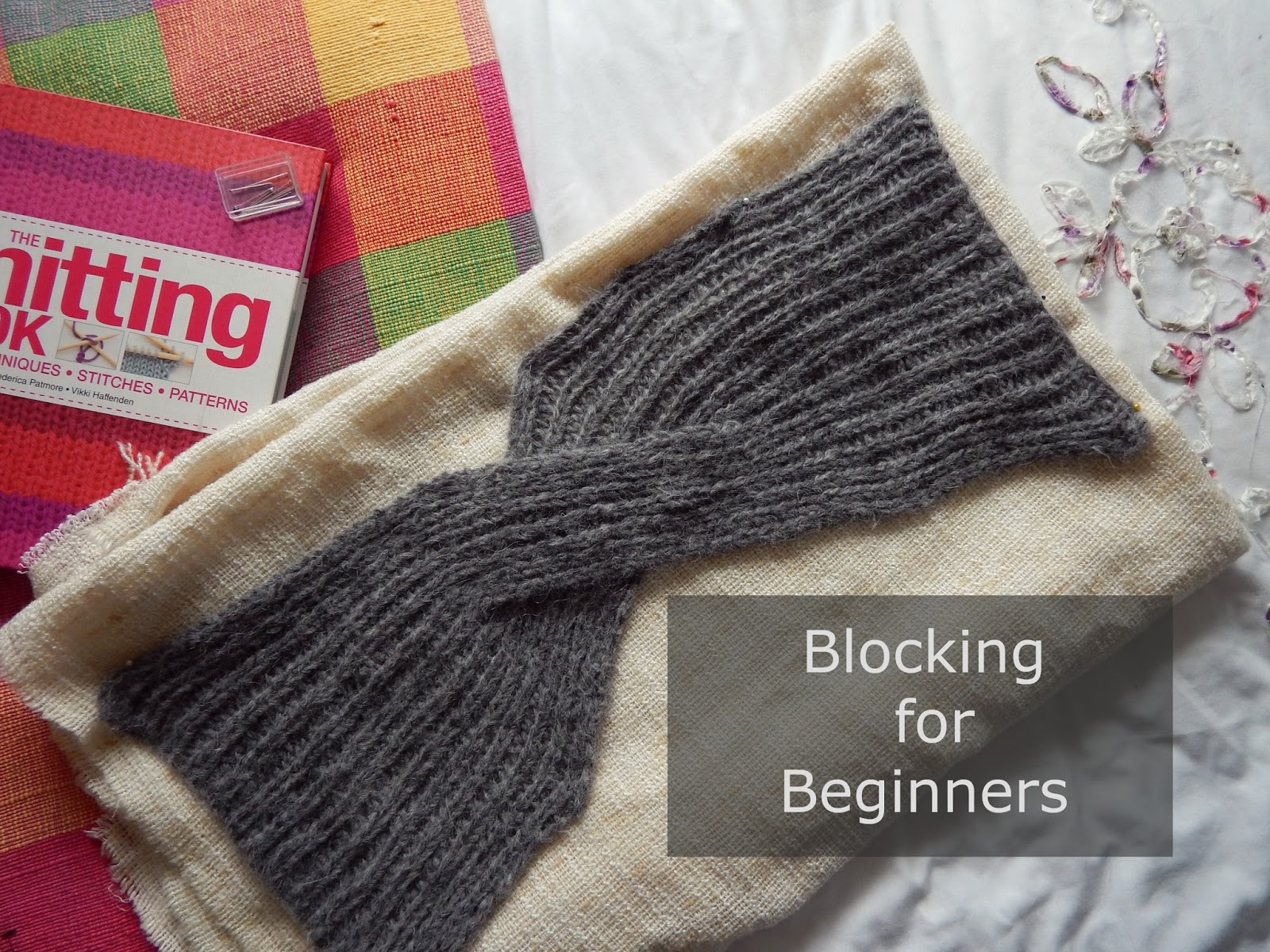 Knitting Blocking for Beginners