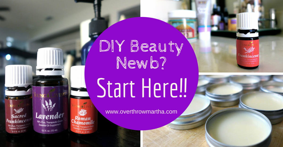 Starting out with DIY beauty? Learn what you need to know here about getting started the right way!