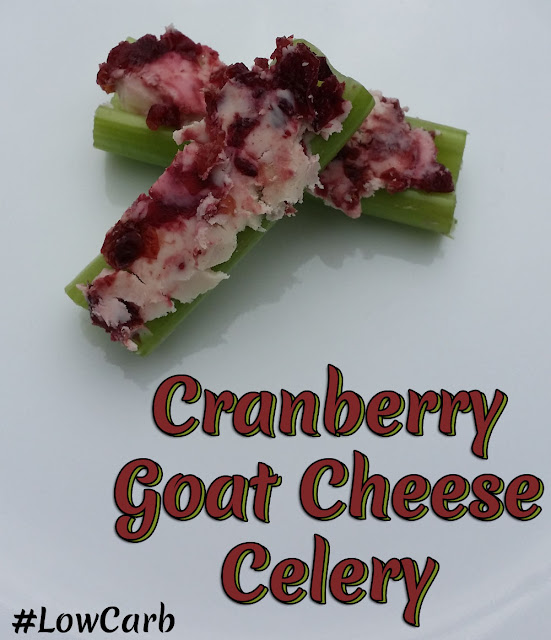 Aldi Cranberry Cinnamon Goat Cheese Celery Low Carb