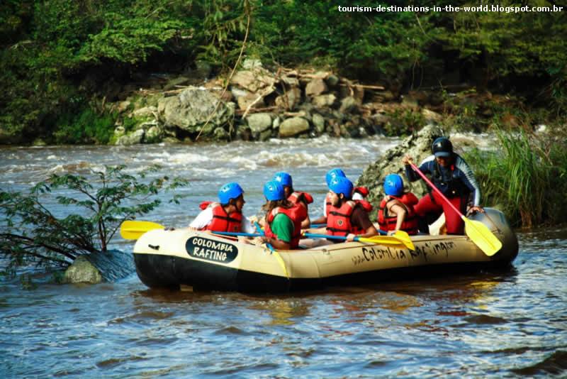 Rafting en San Gil - Colômbia