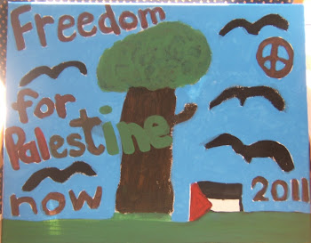 """Freedom for Palestine now 2011'"