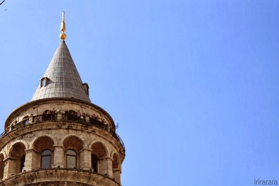 Torre Galata. Hitzen Mundua